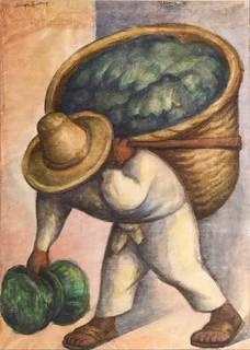 Cabbage Seller : cabbage, seller, Diego, Rivera,, Cabbage, Seller,, 1936., Joaquín, Martínez, Flickr