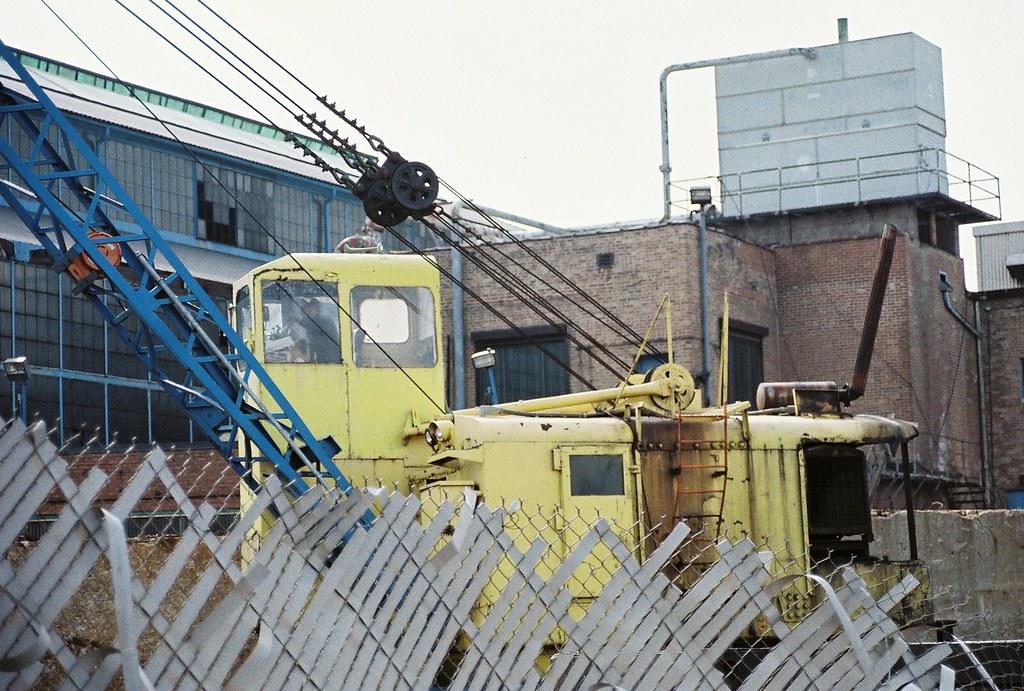 Hard at Work at Finkl Steel Chicago with a Vintage Crane | Flickr