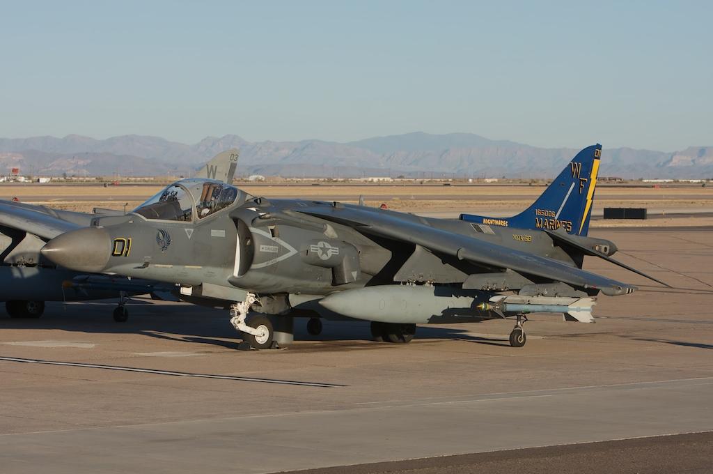 McDonnell Douglas AV8 Harrier  Mesa Williams Gateway