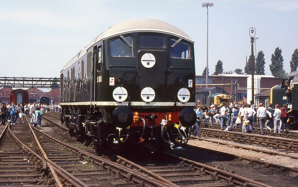 Preserved BR Class 24 D5054 Crewe Works Open Day 4th Ju  Flickr