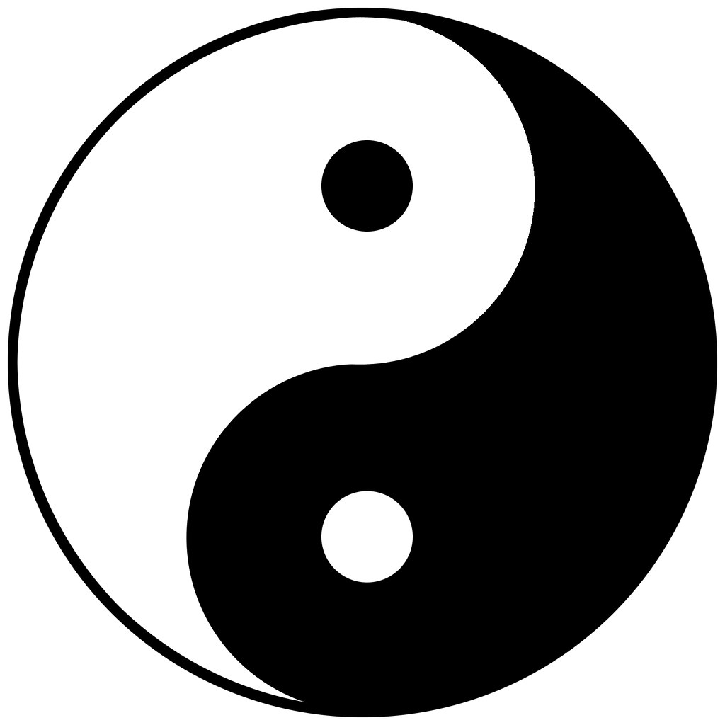 yin yang symbol yin