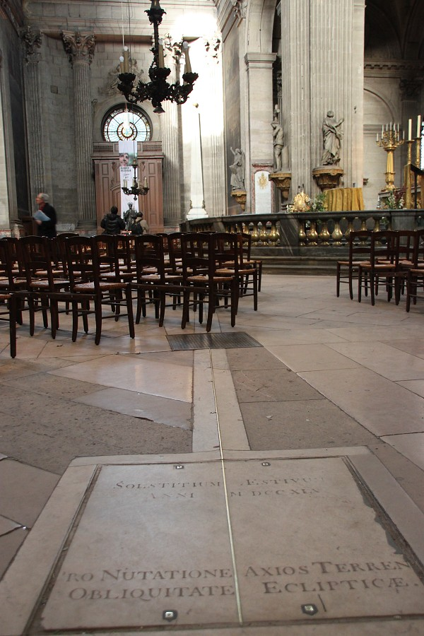 IMG_4933   圣敘爾皮斯教堂。《達芬奇密碼》裏面提到過的——玫瑰線。   小7仔   Flickr