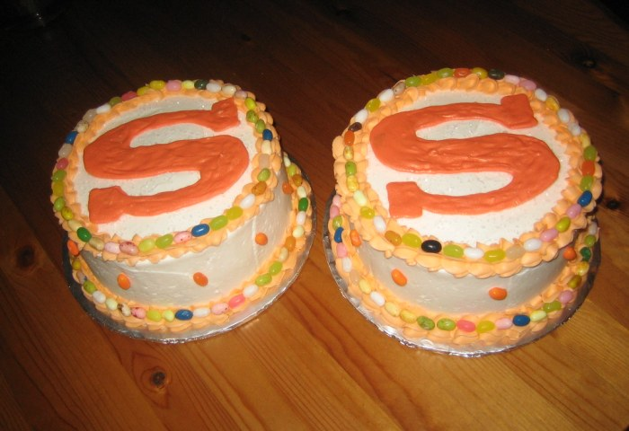 Letter S Birthday Cakes Simon Celebrated His 4th Birthd Flickr