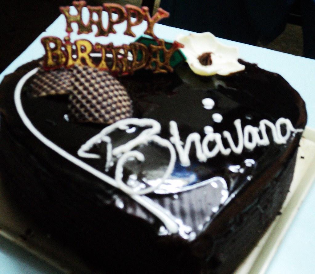 My Bday Cake Bhavana Gowda Flickr
