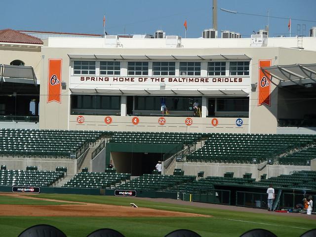 """Birdland"" Ballpark in Sarasota Florida"