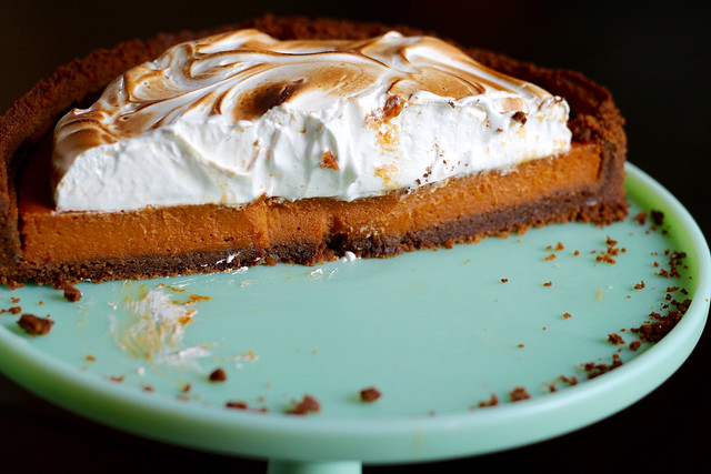 Sweet Potato Gingersnap Tart - 32