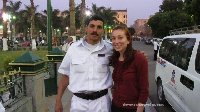 cairo egypt with tourist police