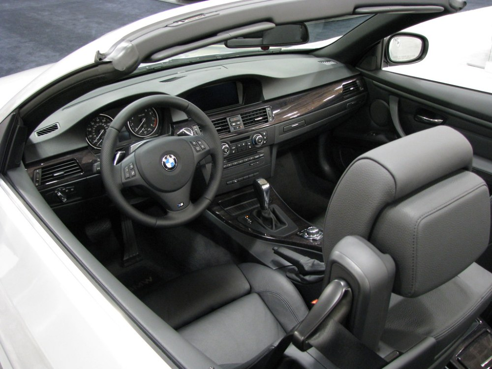 medium resolution of  2011 bmw 328i convertible view of interior by trail trekker