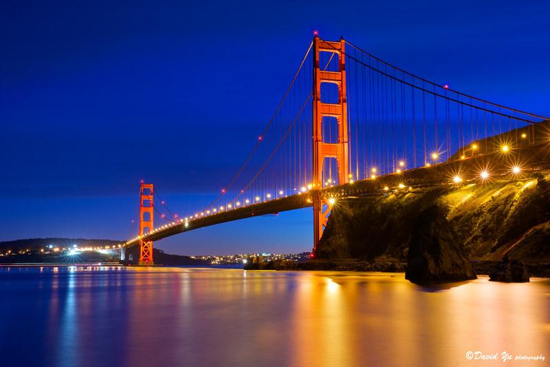 San Francisco Golden Gate Bridge twilight blue moment - Flickr