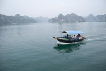 Fischerboot in der Ha Long Bay
