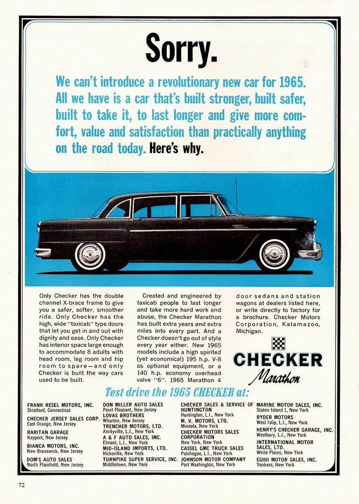 Checker Marathon : checker, marathon, Checker, Marathon, Alden, Jewell, Flickr