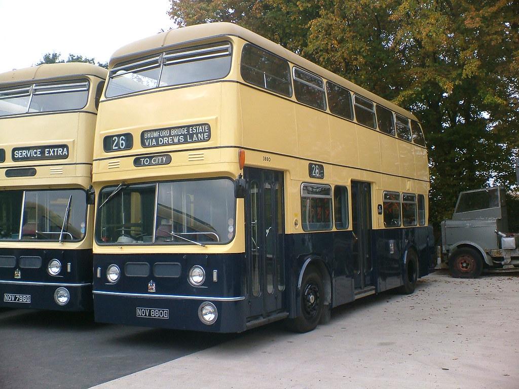 Birmingham City Transport 3880 - NOV880G | Seen at a Wythall… | Flickr