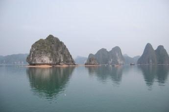 Felsformation in der Ha Long Bay