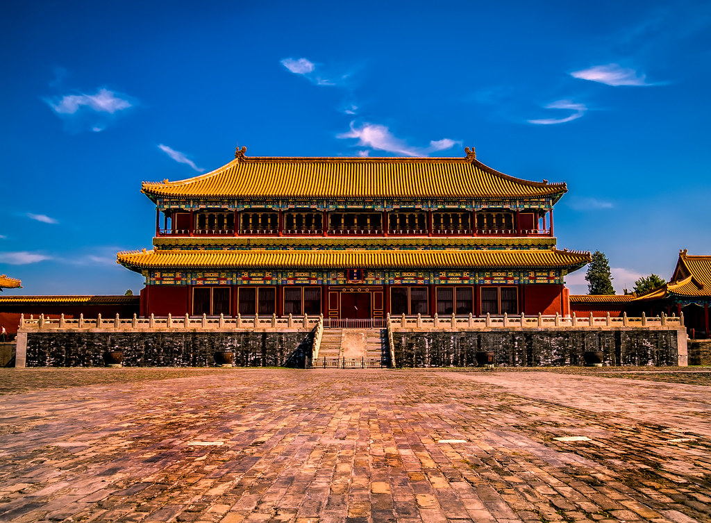 The Empty Forbidden City   I've been to the Forbidden City a…   Flickr