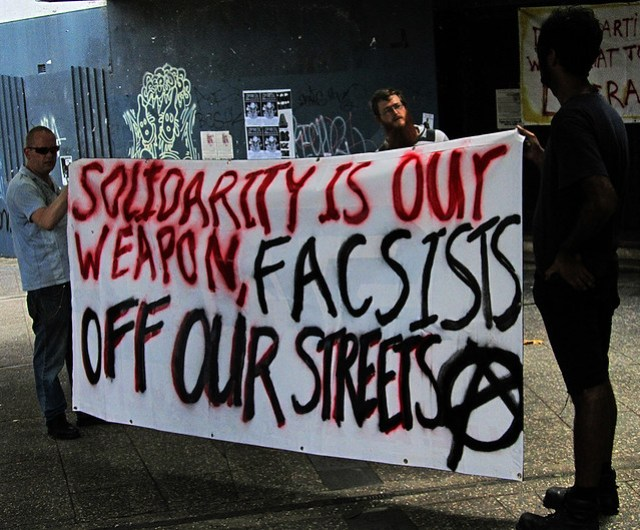 """""""SOLIDARITY IS OUR WEAPON"""""""