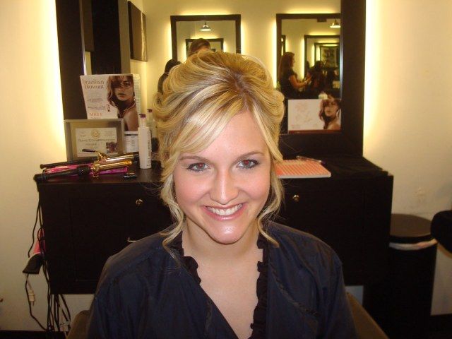 wedding hair front view | lf hair studio | flickr