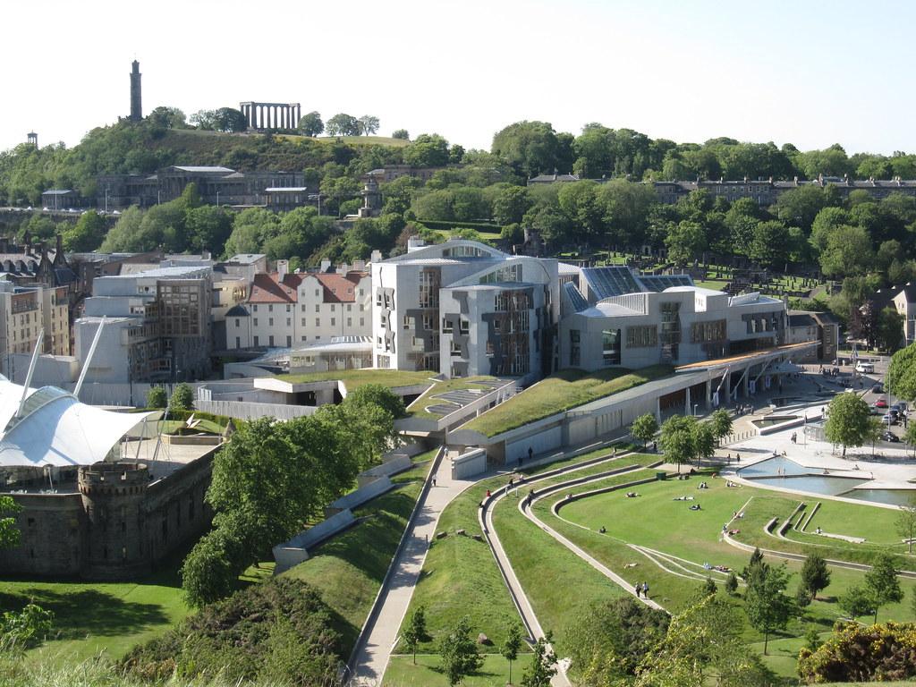 The Scottish Parliament  The Scottish Parliament Building