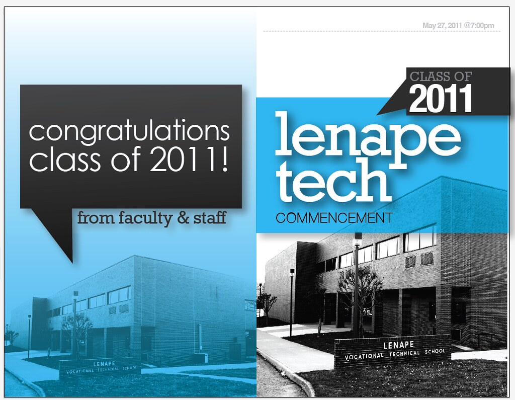 lenape tech graduation program