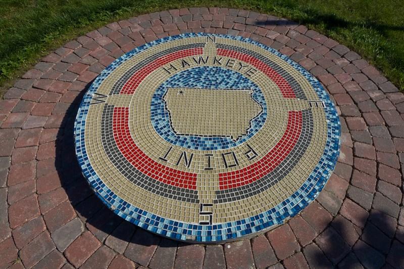 Hawkeye Point Mosaic