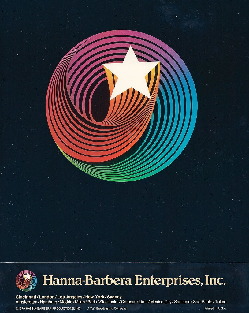 Hanna Barbera Productions Swirling Star : hanna, barbera, productions, swirling, Hanna-Barbera, Sales, Guide,, Bought, Ebay,, Th…, Flickr