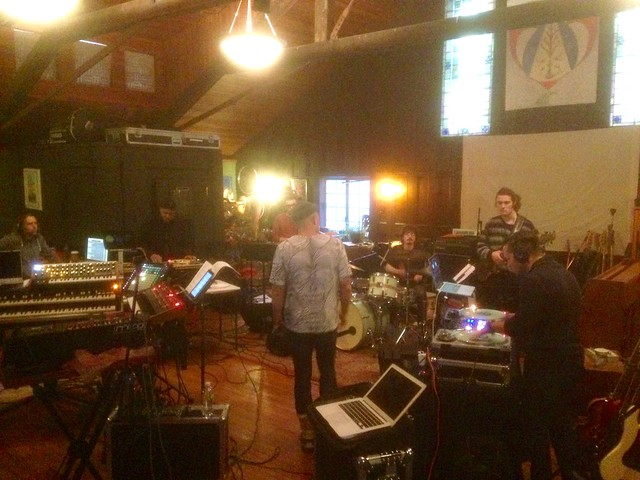 "Dress rehearsal for Decora's ""Beyond Belief"" CD release show"