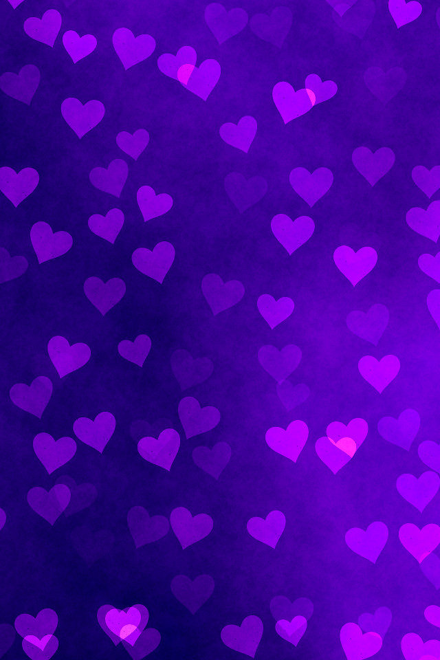 Iphone X Wallpaper For Iphone 7 Iphone Background Purple Hearts This Iphone Background