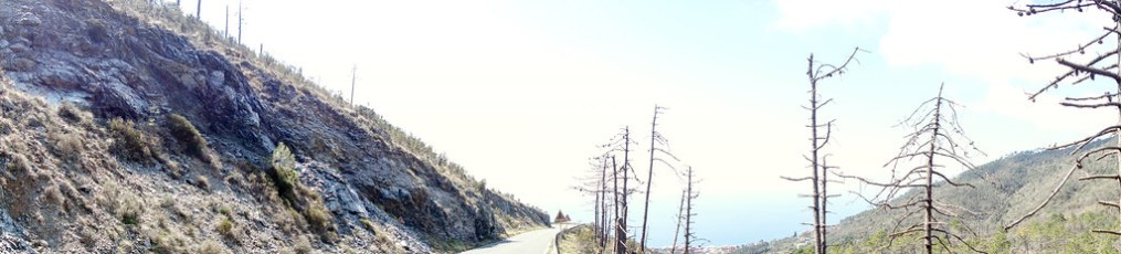 Glorious cycling in the hills surrounding teh five villages of Cinque Terre