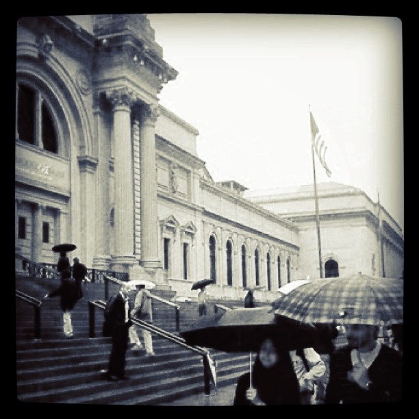 Rainy Day at the Met
