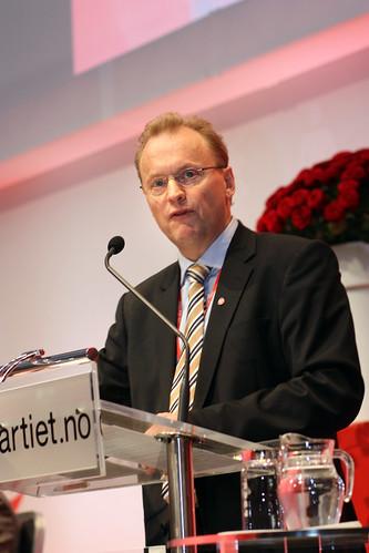 Raymond Johansen taler til landsmøtet | Arbeiderpartiet ...