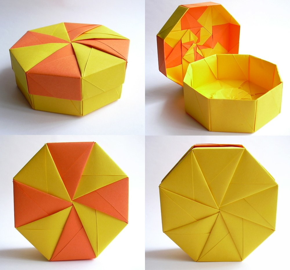 medium resolution of  octagonal pinwheel lid box tomoko fuse by dahlia k