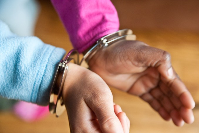 Handcuffed Girls Qiqi Lourdie December 05, 20104