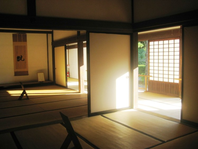 A typical Japanese room with