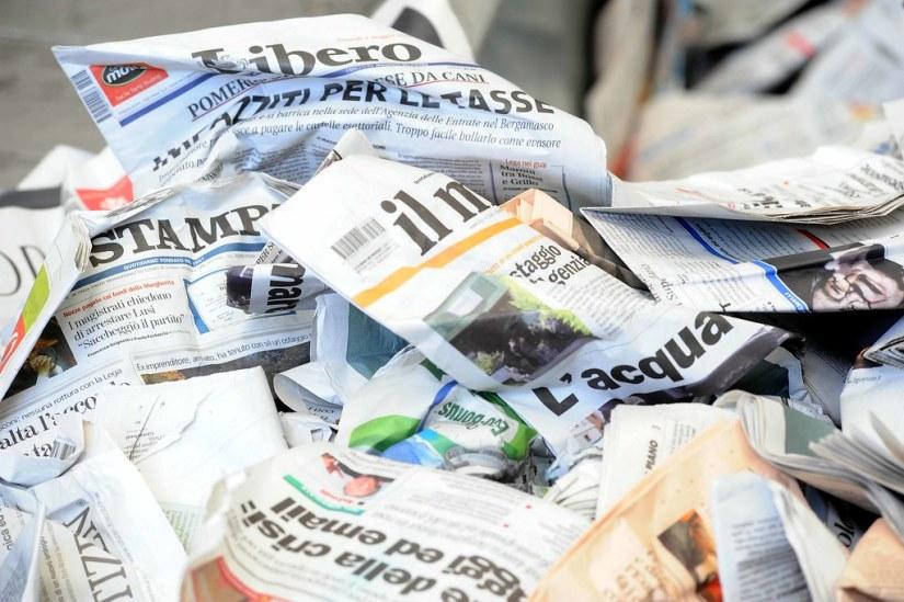giornali | Bologna - 05/05/2012 - set dello spot de il Fatto… | Flickr