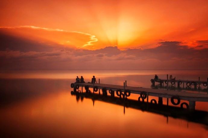 Ein magischer Sonnenuntergang  Einen magischen Sonnenuntergang zu spüren, ist eine der Stärken… |  Flickr