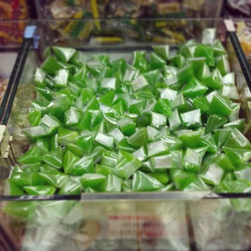 椰汁糕 - 世界上我唯一鍾意食的糖,荃灣竟然有賣,以為要去泰國才有 The only sweets on the w… | Flickr