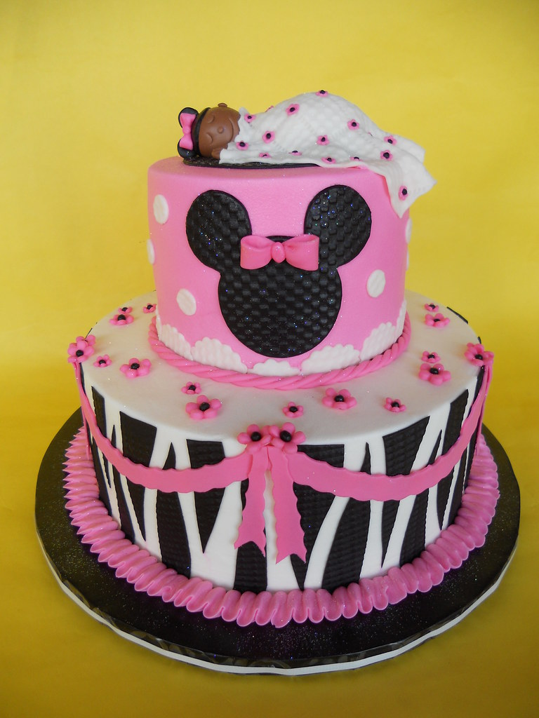 Minnie Mouse Baby Shower Cake : minnie, mouse, shower, Zebra, Print, Minnie, Mouse, Shower, Stella, Flickr