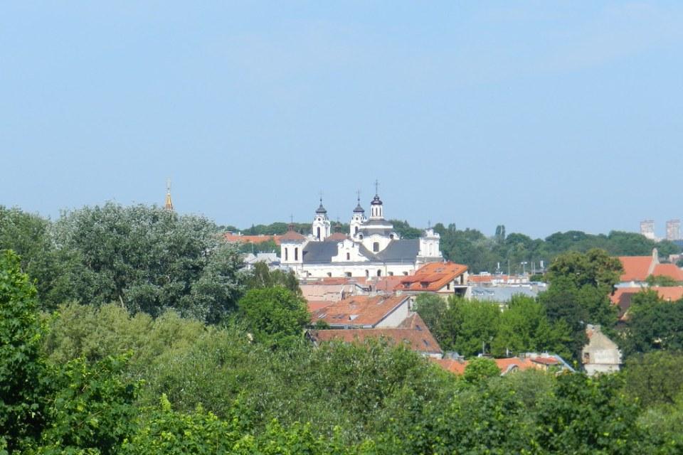 vistas Iglesia de San Juan Bautista Vilna Lituania 16