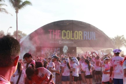 The Color Run Singapore 2013