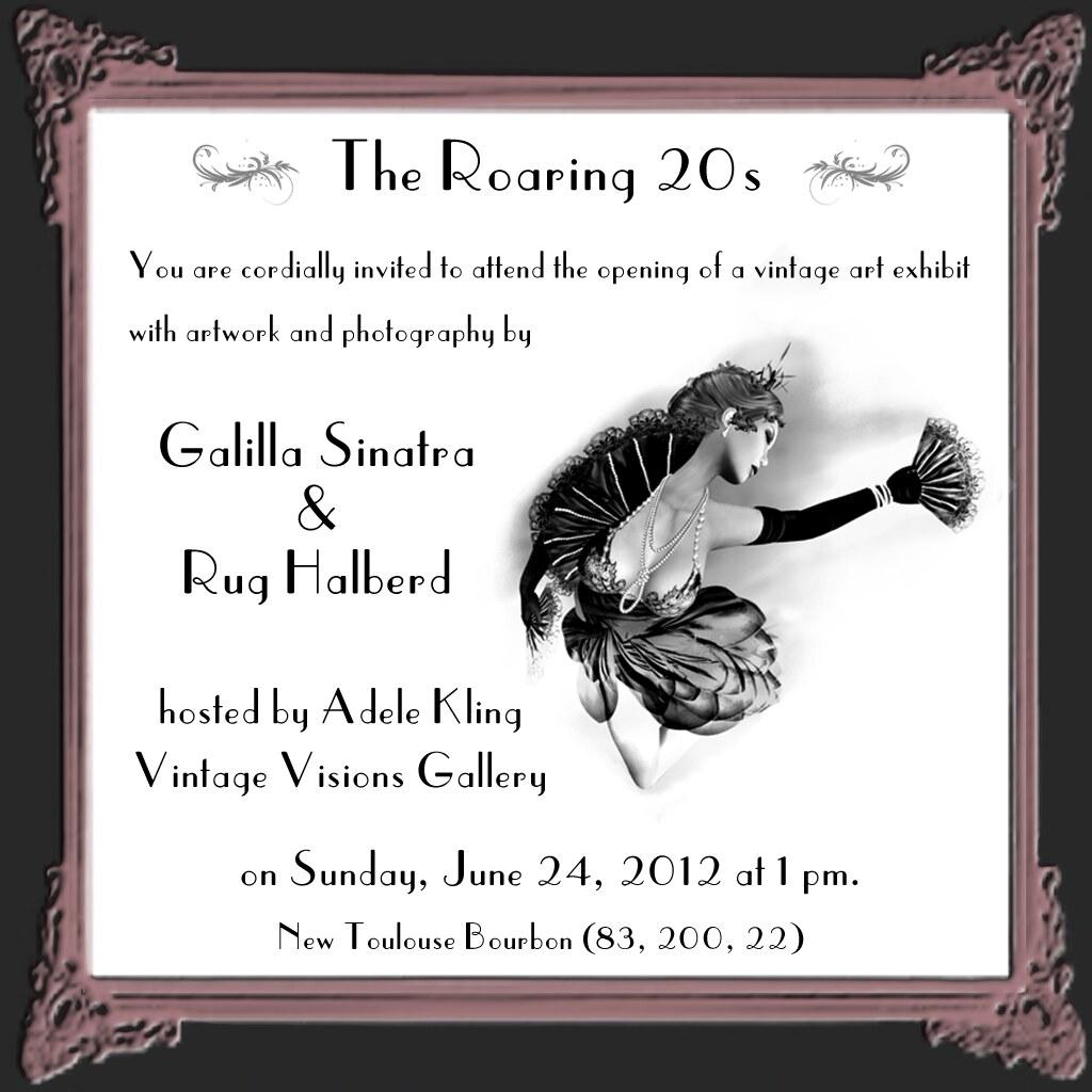 Gallery Reception Invitation