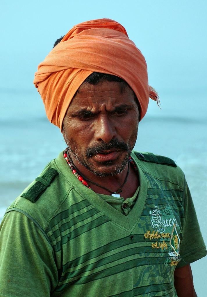 India - Odisha - Puri - Fisherman - 08