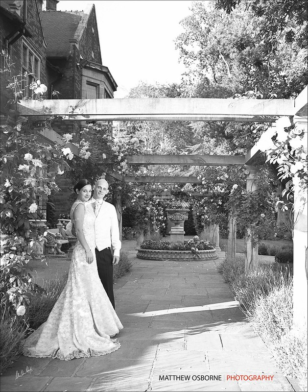 Black & White Film Wedding Photography