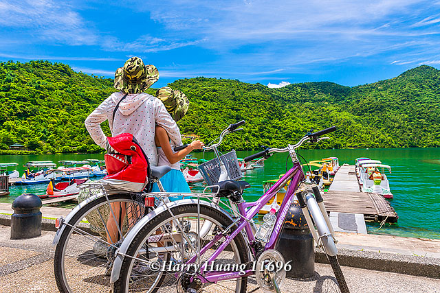 Harry_11696,腳踏車,單車,騎腳踏車,騎單車,自行車,騎自行車,親子,家庭,花蓮,鯉魚潭,北碼頭,鯉魚潭風… | Flickr