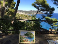 Painting Workshop Spain with www.frenchescapade.com