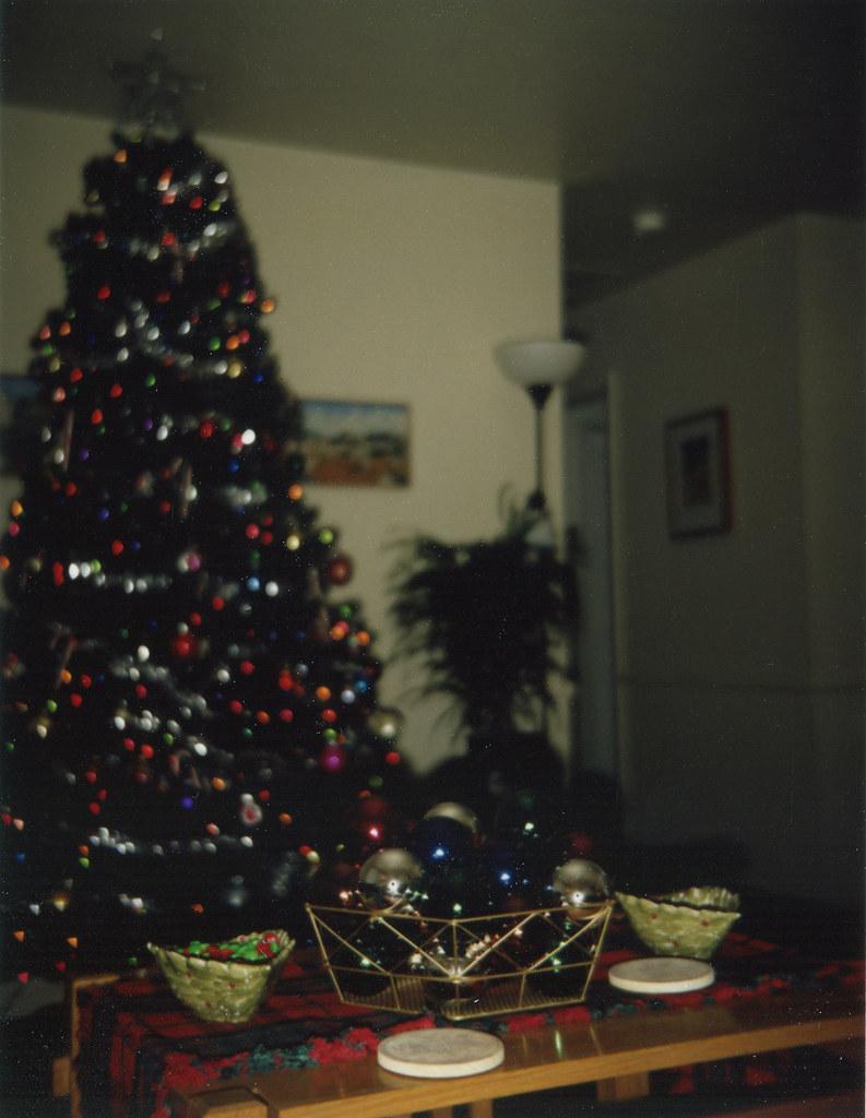 Christmas tree flash