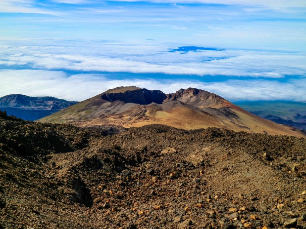 Volcan Pico Viejo en Tenerife