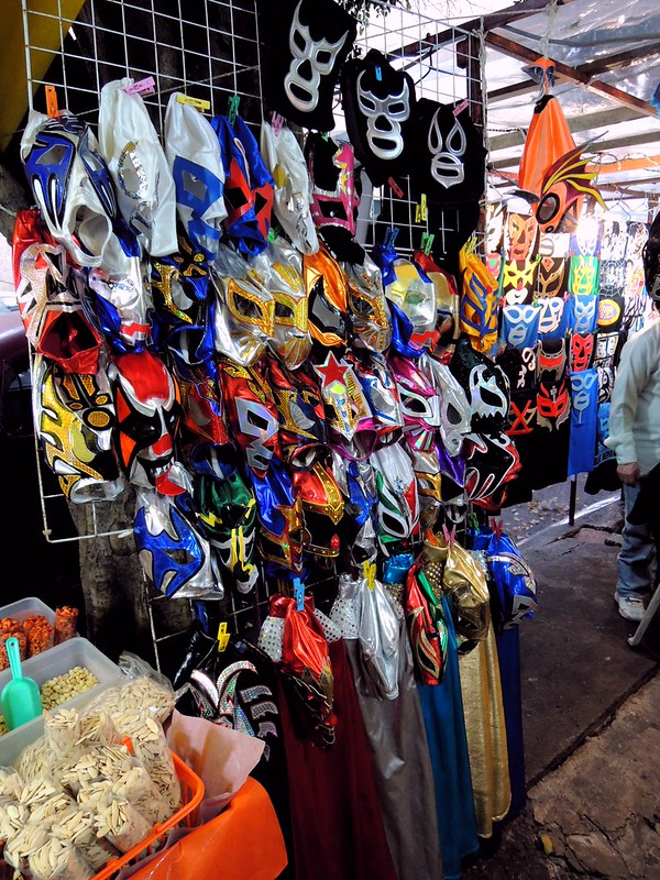 Lucha libre masks by bryandkeith on flickr
