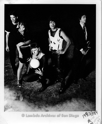 1983/1984 - Zanne and The Norm Norman Band, Promotional Photo.