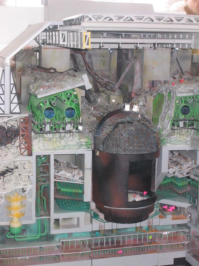miniature of the inside of reactor 4  Ellen  Flickr