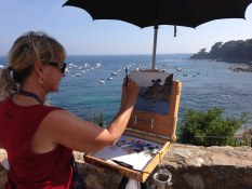 Oil Painting Workshop on the Costa Brava with www.frenchescapade.com