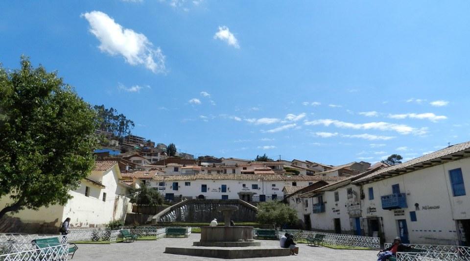 Plaza de San Blas Cuzco Peru 01